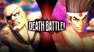 DB Sagat VS Joe
