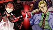 Tohru Adachi vs. Yoshikage Kira