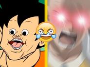 Goku vs saitama but its a shitpost