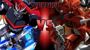 Great Mazinger vs. Getter Robo G