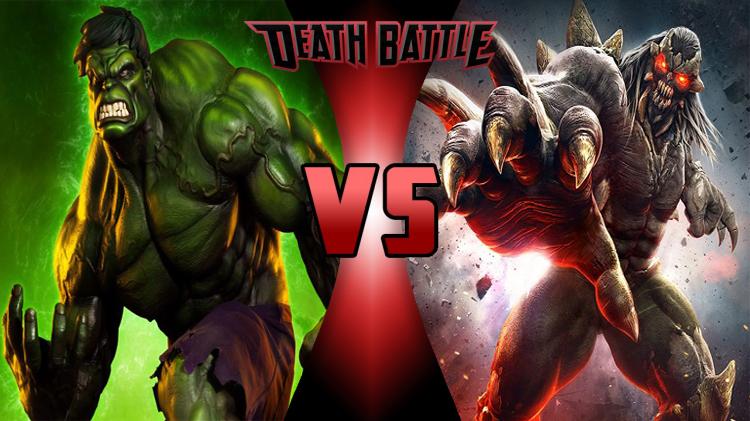 Image - Death Battle - Hulk VS Doomsday.jpg | DEATH BATTLE ... Doomsday Vs Hulk Death Battle