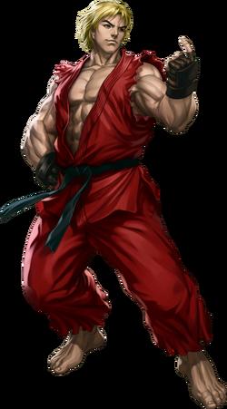Street Fighter - Ken Masters as he appears in Street Fighter III Third Strike Online Edition