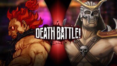 Akuma VS Shao Kahn - BK3
