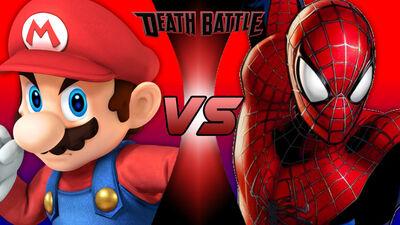 Mario vs Spiderman