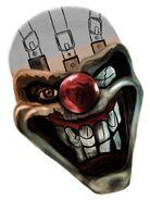 Twisted metal sweet tooth fan art wip by fruitpunchsamurai13-d58ssts