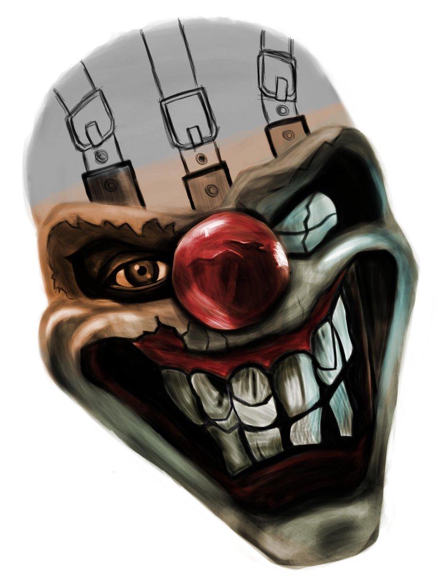 Image twisted metal sweet tooth fan art wip by - Sweet tooth wallpaper twisted metal ...