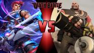 Zarya vs. The Heavy