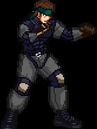 Sprite Solid Snake
