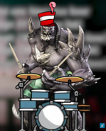 DC Comics - Doomsday as Drumsday