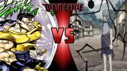 Chaka and Anubis vs. Ryoku and Masamune Nakatsukasa