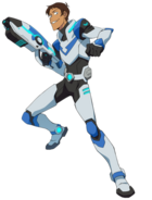 Lance McClain, the Paladin of the Blue Lion
