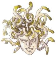 Super Castlevania IV - Medusa Head - 01