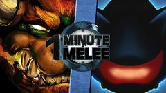 One Minute Melee Bowser vs. Mecha Sonic