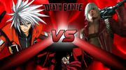 Ragna VS Dante VS Alucard