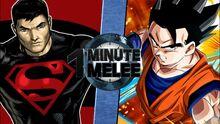 OMM Gohan VS Superboy