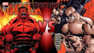 Red Hulk vs. The General