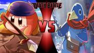 Bandana Waddle Dee vs. Hero Prinny