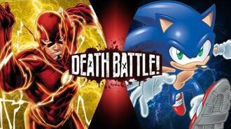 Can Archie Sonic Beat The Flash? Wally West V.S. Archie Sonic - DEATH BATTLE! Prediction-1