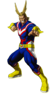 All Might One's Justice Design