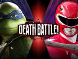 Leonardo VS Red Ranger Jason