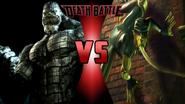 Killer Croc vs. Toad