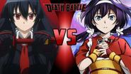 Akame vs. Kyoka Izumi