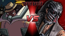 Big Band (Skullgirls) VS Kabal (Mortal Kombat)