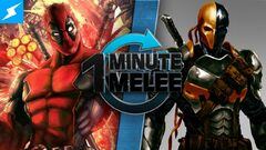 One Minute Melee Deadpool vs Deathstroke