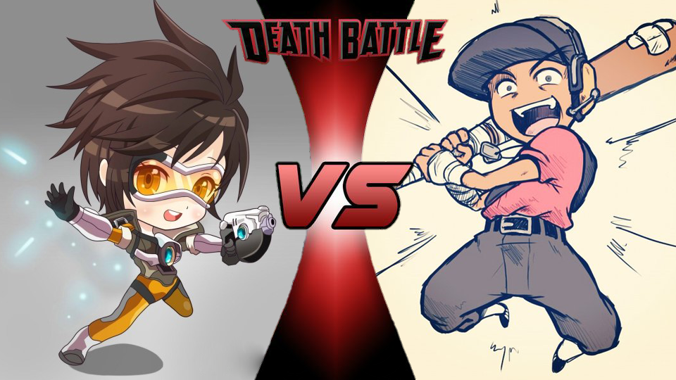 Tracer VS Scout Chibi
