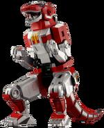 Tyrannosaurus Zord Render