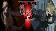 Heinkel Wolfe vs. Riza Hawkeye
