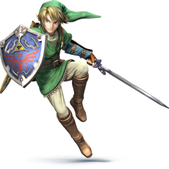 A very large Sm4sh Link