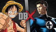 Luffy VS Mr. Fantastic