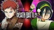 Gaara VS Toph Official