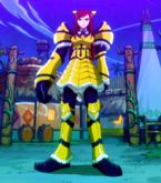 Fairy Tail - Erza Scarlet wearing Giant Armor