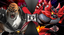 Kintaro vs Incineroar