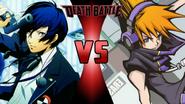 Makoto Yuki vs. Neku Sakukraba