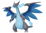 Mega Charizard X 3D Model DB