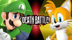 Luigi vs Tails (2019) JustAnimeBoy