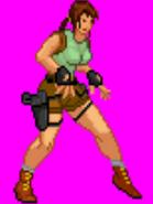 Lara sprite