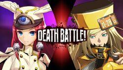 Tsubaki Yayoi VS Millia Rage (Yoshirocks92)