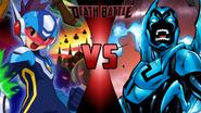 Star Force Mega Man vs. Blue Beetle