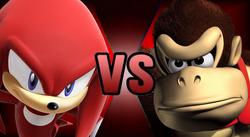 Knuckles Donkey Kong Fake Thumbnail