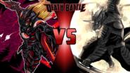 Duskmon vs. Zen-Aku