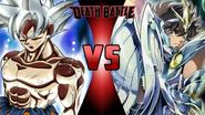 Son Goku vs. Pegasus Seiya