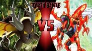 Pinsir vs. Kuwagamon