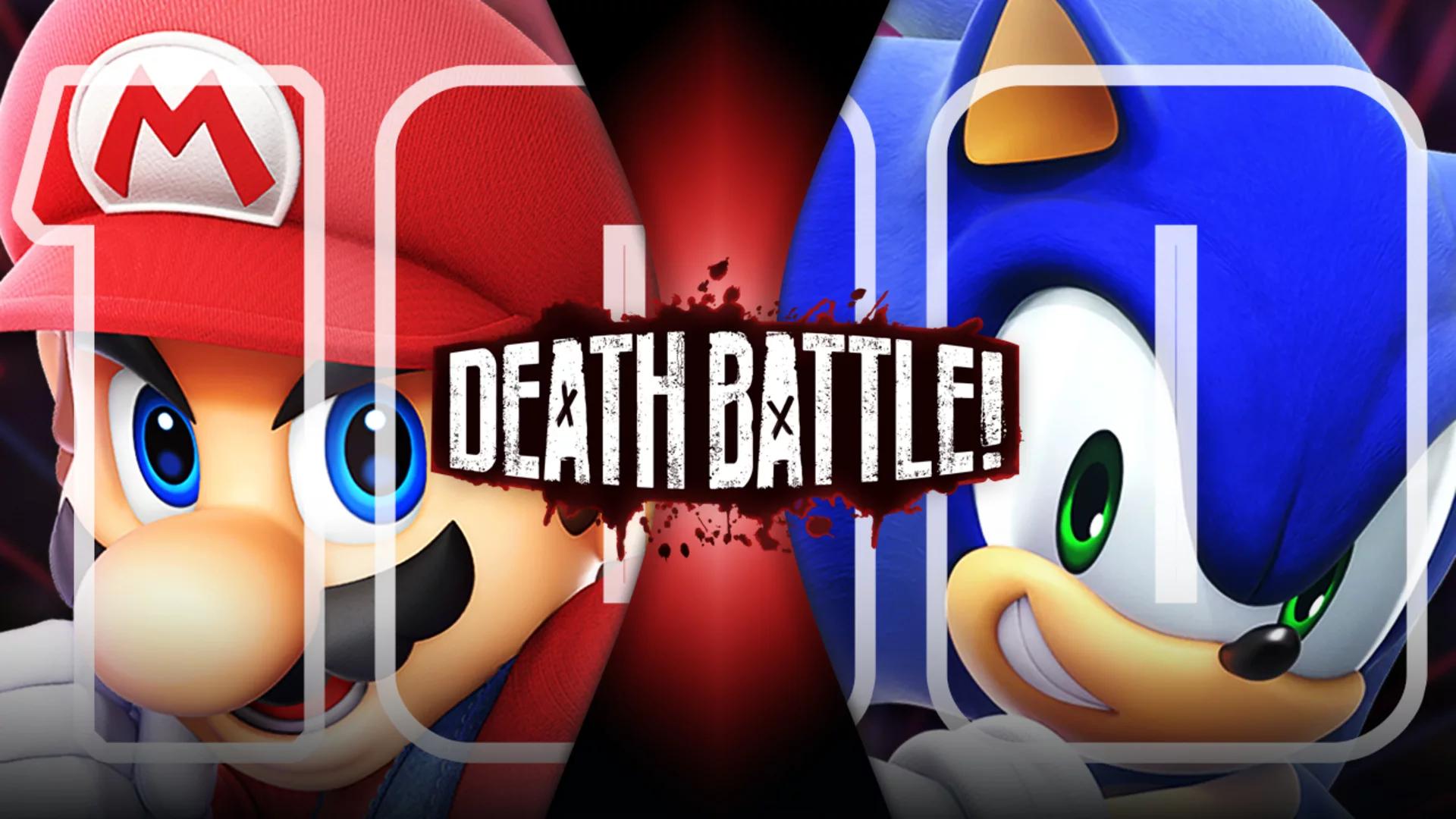 Mario VS Sonic (2018) | DEATH BATTLE Wiki | FANDOM powered