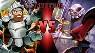 Sir Arthur vs Sir Daniel Fortesque