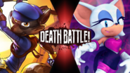Sly Cooper VS Rouge the Bat