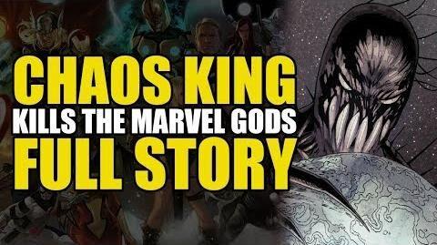 Chaos King Kills All The Marvel Gods Chaos War (Full Story) Comics Explained